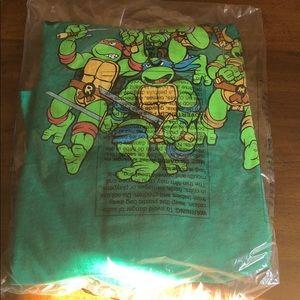 Tmnt teenage mutant ninja turtle shirt Large L new